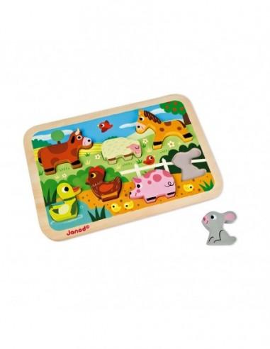 Chunky Puzzle Ferme 7 pcs (bois)