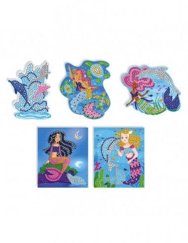 Kit Créatif - Mosaïques Dauphins et Sirènes