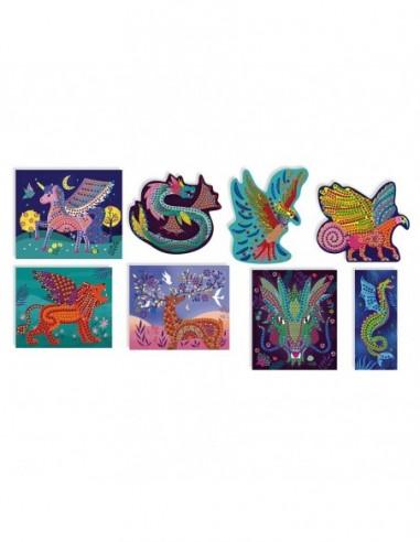 Kit Créatif - Mosaïques Créatures Fantastiques