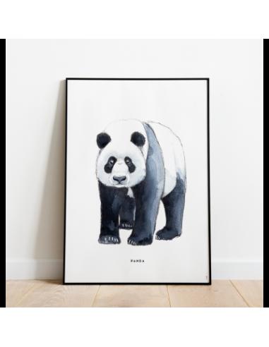 Poster Panda 30x40  de MEESIE BINTJE