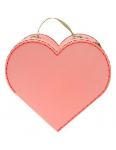 PLAY JOD HEART Velours Glitter Pink