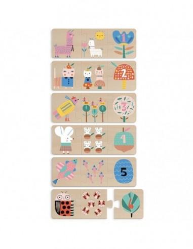 Puzzles trio Maman-bébé Suzy Ultman
