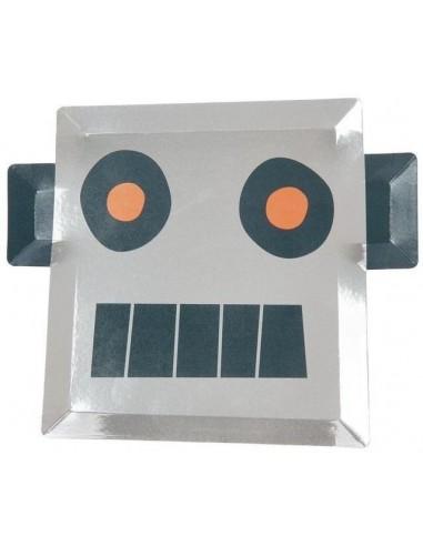 Assiettes robot