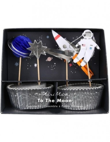 Kit cupcakes the moon