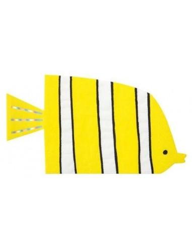 Serviettes poissons