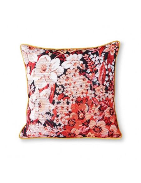 Coussin imprimé « floral »