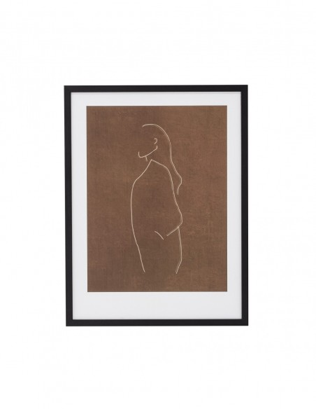 Tableau Croquis Femme - Terracotta