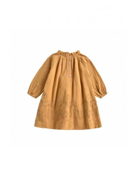 Robe Suenna coloris Jaune Spicy