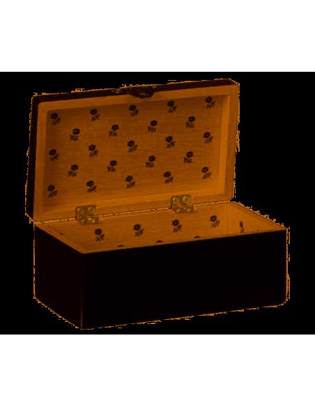 Malle En Bois Miniature