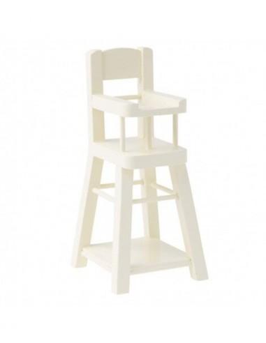 Mini chaise haute en bois