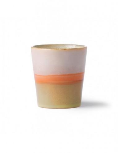 Mug céramique inspiration 70's modèle Saturne