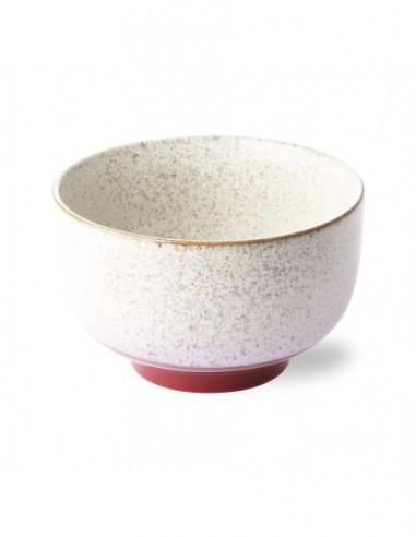 Bol céramique inspiration 70's modèle frost