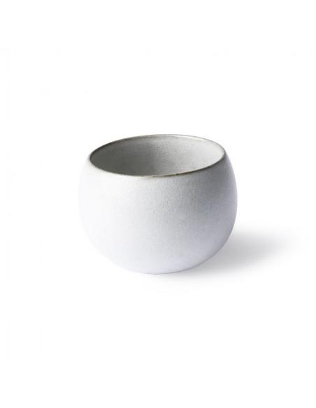 Mug céramique design Boule coloris Blanc