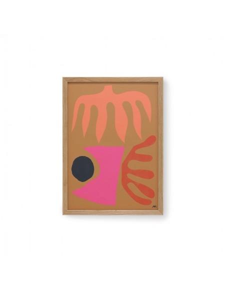 Tableau abstrait de Marcello Velho