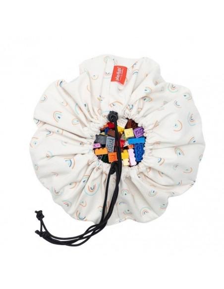 Arc-en-ciel Mini sac de rangement - tapis