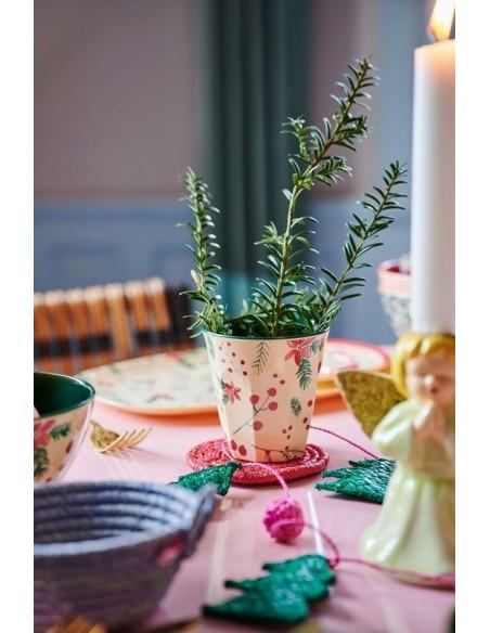 Gobelet en mélamine, motifs de Noël