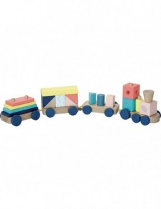 JANOD PYRAMIDE 6 CUBES - BABY FOREST 3700217380168