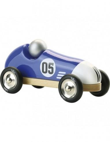 Voiture Vintage Sport bleue