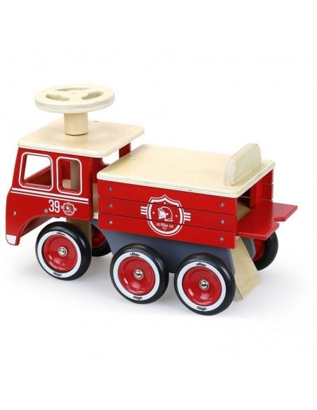 Porteur camion de pompiers