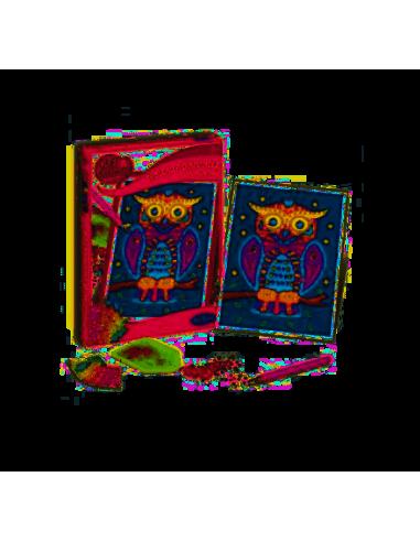 Hibou - Tableau à diamanter