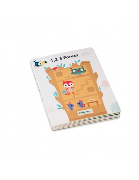 1,2,3 FOREST - Mon premier livre puzzle