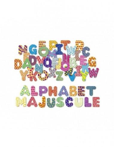 Magnets Alphabet majuscule 56 pièces