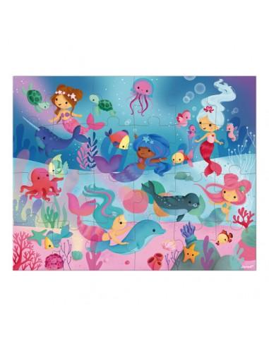 Valisette Puzzle Sirènes 24 pcs